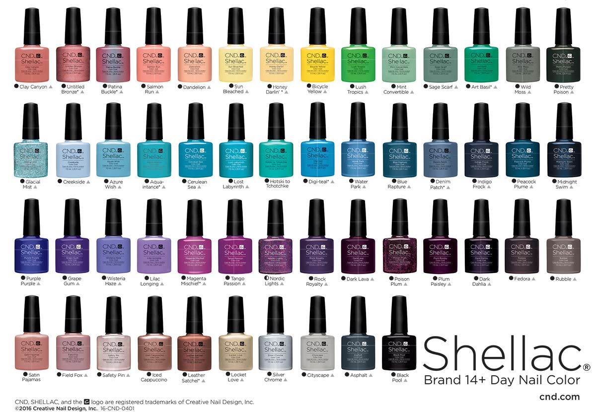 Shellac Nails Four Oaks Sutton Coldfield Exclusive Beauty Spa